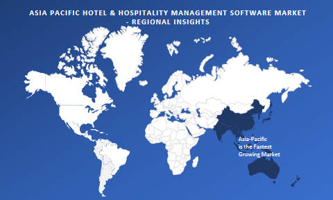 Asia Pacific Hotel & Hospitality Management Software Market Regional Outlook