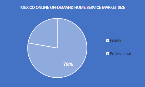 Mexico online on-demand home service market - Application